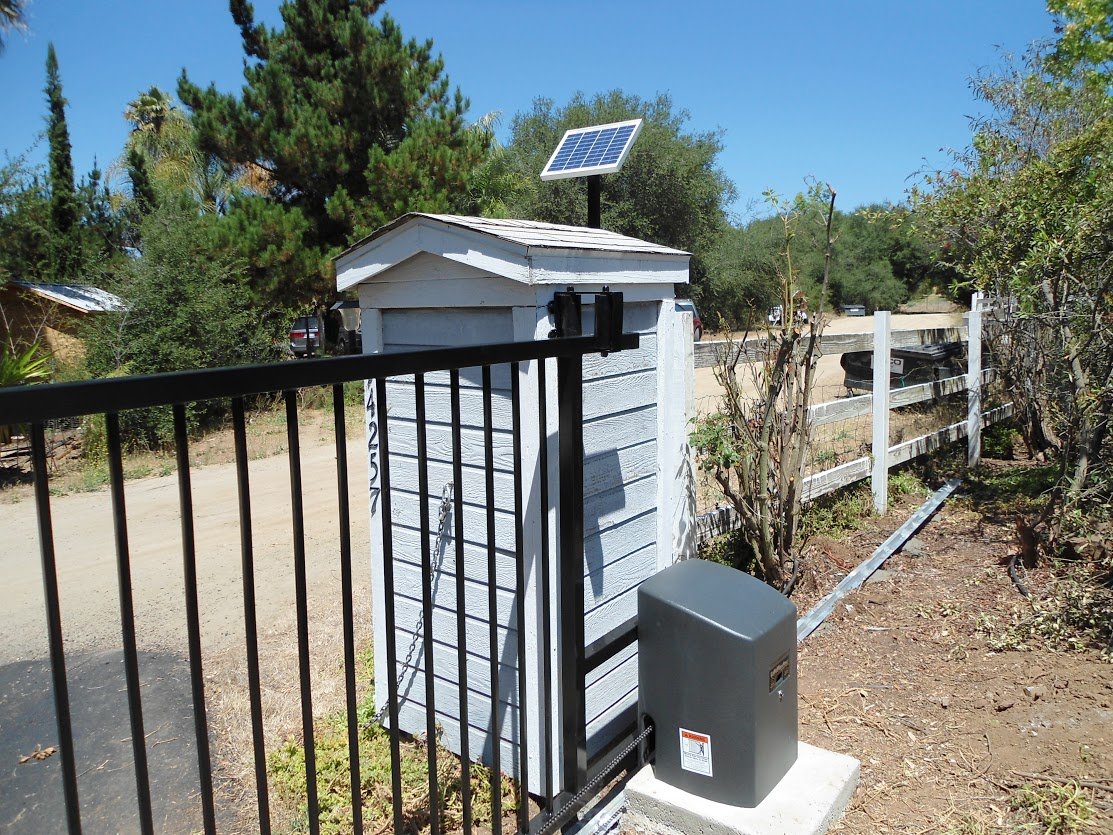 Frontier Fence Inc Gate Automation