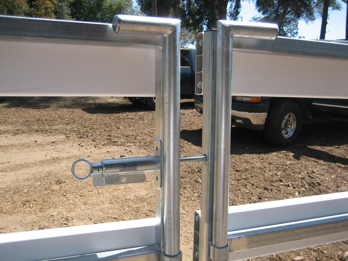 Frontier Fence Inc Barrier Amp Corral Gates